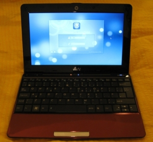 EeePC 1008HA with Archlinux and KDE SC 4.4